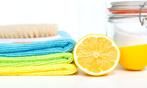 Eco-friendly natural cleaners, cleaning products.